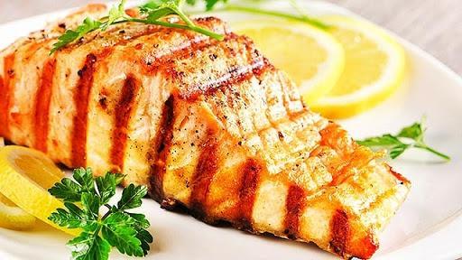 Cá ngừ đại dương nướng